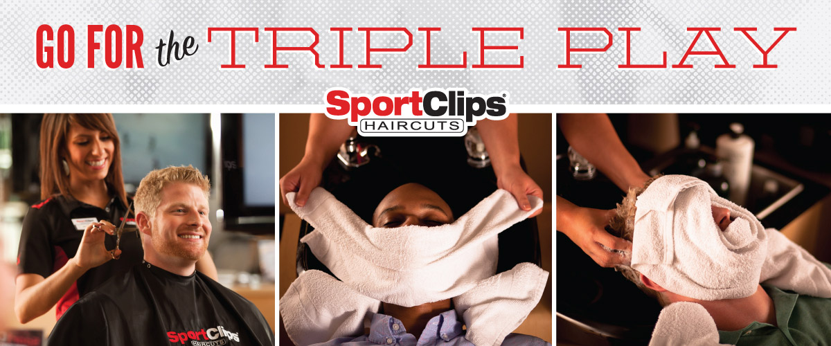 The Sport Clips Haircuts of Cypress - Cypress Mill Plaza Triple Play