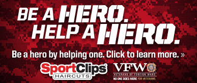 Sport Clips Haircuts of Cypress - Cypress Mill Plaza​ Help a Hero Campaign
